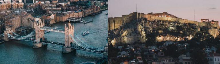 Londra - Atene