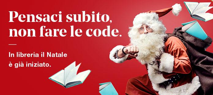 Pensaci subito, non fare le code. In libreria il Natale è già iniziato